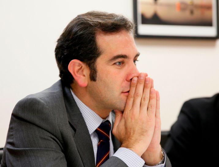 Lorenzo Córdova, presidente del INE (Foto: EFE)