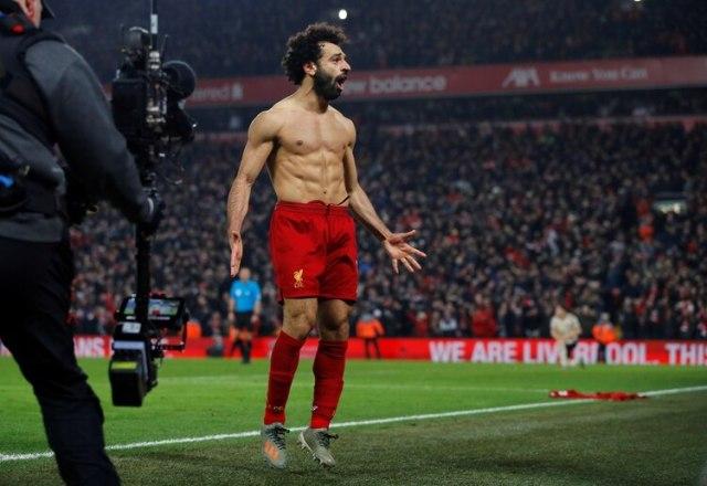 El impactante físico de Mohamed Salah (Reuters)