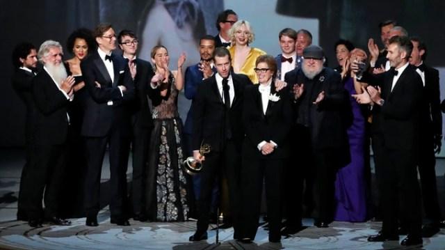 """El elenco de """"Game of Thrones"""" recibió el premio al mejor drama"""