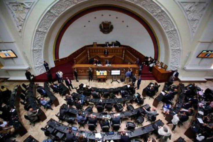 Vista del hemiciclo de la Asamblea Nacional de Venezuela (EFE/Miguel Gutiérrez/Archivo)