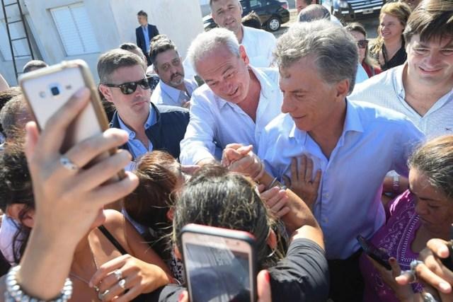 El presidente Mauricio Macri estuvo la semana pasada en Gualeguaychú e hizo campaña por la fórmula de Cambiemos que se mide en las PASO el domingo.