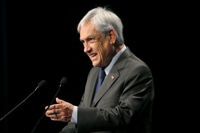 Foto de archivo. El presidente chileno Sebastián Piñera durante un discurso en Santiago, Chile. Enero, 2020. REUTERS/Edgard Garrido