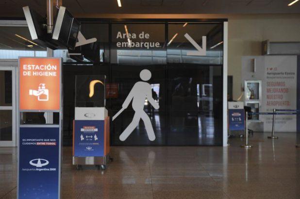 el aeropuerto de Ezeiza es el único habilitado en el área metropolitana de Buenos Aires