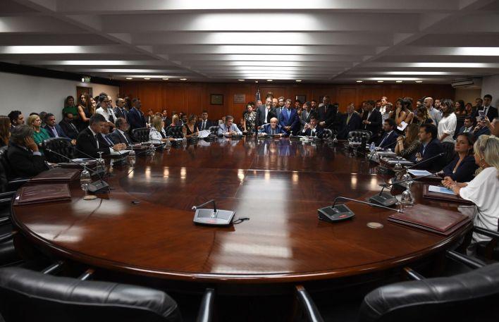 El Consejo de la Magistratura tendrá esta semana una nueva sesión de alta temperatura (Maximiliano Luna)