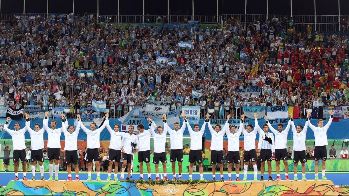 """Los """"Leones"""" hicieron historia en Río de Janeiro 2016 (AP)"""