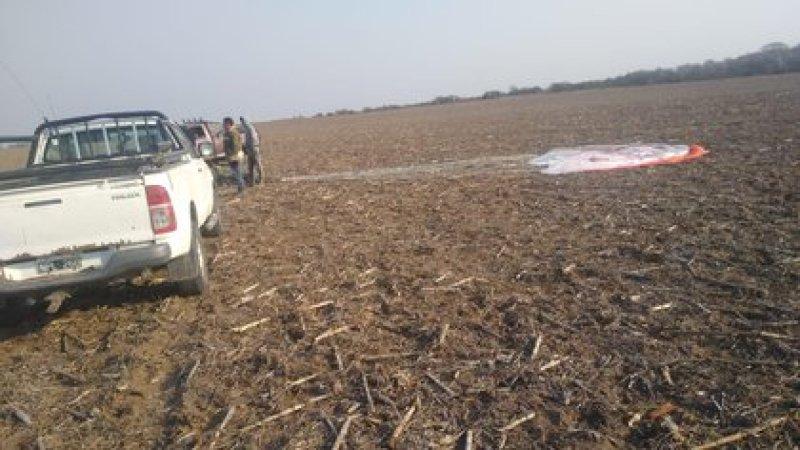 El piloto logró eyectarse pero no sobrevivió