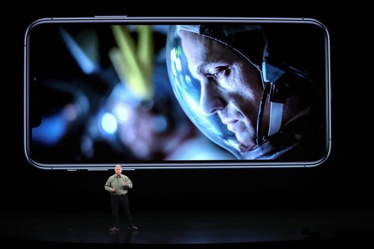 La empresa destacó las mejoras en la cámara que llegaron de la mano del nuevo iPhone en sus diferentes modelos(Justin Sullivan/Getty Images/AFP)