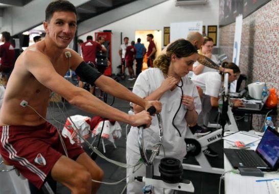 Nacho Fernández es pretendido por Inter de Porto Alegre (Twitter @RiverPlate)