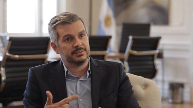 Marcos Peña, ex jefe de Gabinete