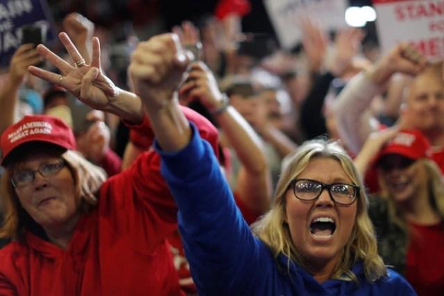 Simpatizantes de Trump enCape Girardeau, Missouri(REUTERS/Carlos Barria)