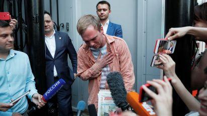 Ivan Golunov, el periodista arrestado injustamente (Reuters)