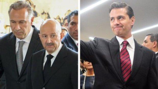 Los expresidentes Carlos Salinas y Enrique Peña Nieto, figuran entre los clientes y amigos de Collado (Foto: Especial/ Cuartoscuro)