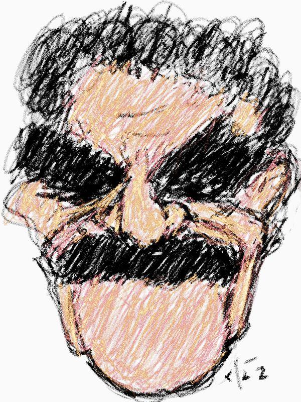 Gabriel García Márquez (Ilustración: Jaime Clara)