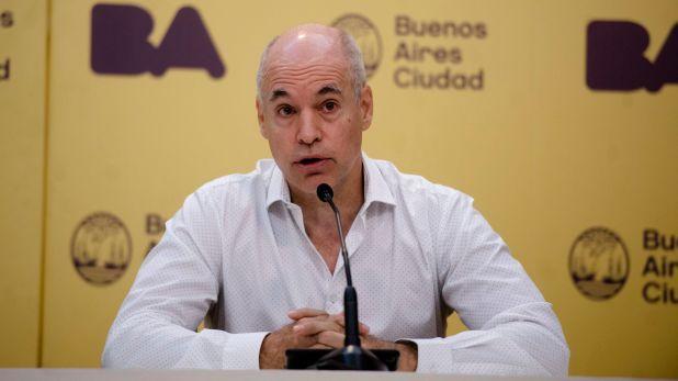 El jefe de Gobierno porteño, Horacio Rodríguez Larreta (Adrian Escandar)