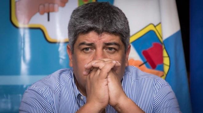 Pablo Moyano, también denunciado. (Martín Rosenzveig)