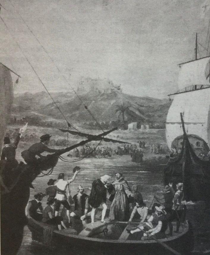 Partida de Colón del Puerto de Palos