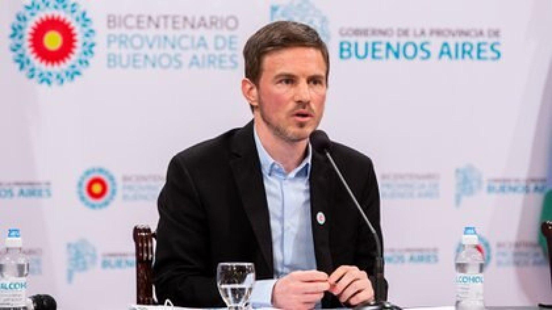 El ministro de Producción bonaerense, Augusto Costa