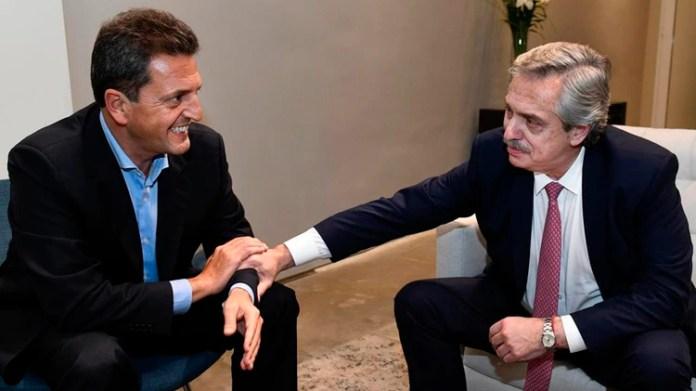 Sergio Massa y Alberto Fernández competirán en el mismo frente electoral