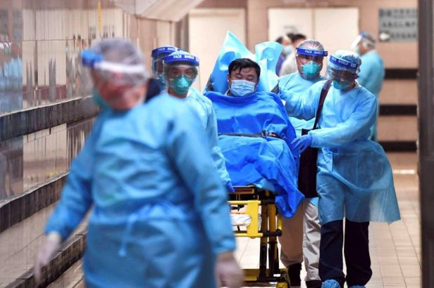 Los hospitales de algunas ciudades del mundo están colapsando por la cantidad de casos de afectados por el coronavirus