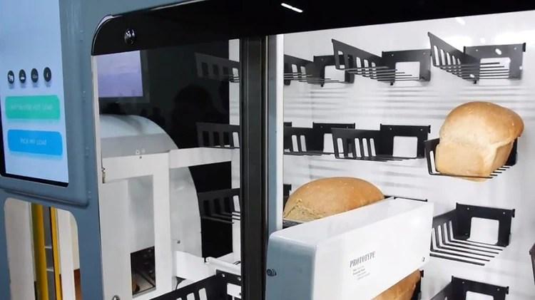 Breadbot, la máquina de hacer pan