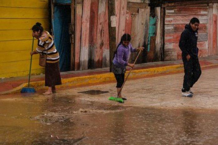 La tormenta tropical Cristóbal afectó el pasado junio a los estados del sureste de México y dejó importantes inundaciones en diversas comunidades de Quintana Roo, Campeche y Yucatán (Foto: Isabel Mateos/Cuartoscuro)