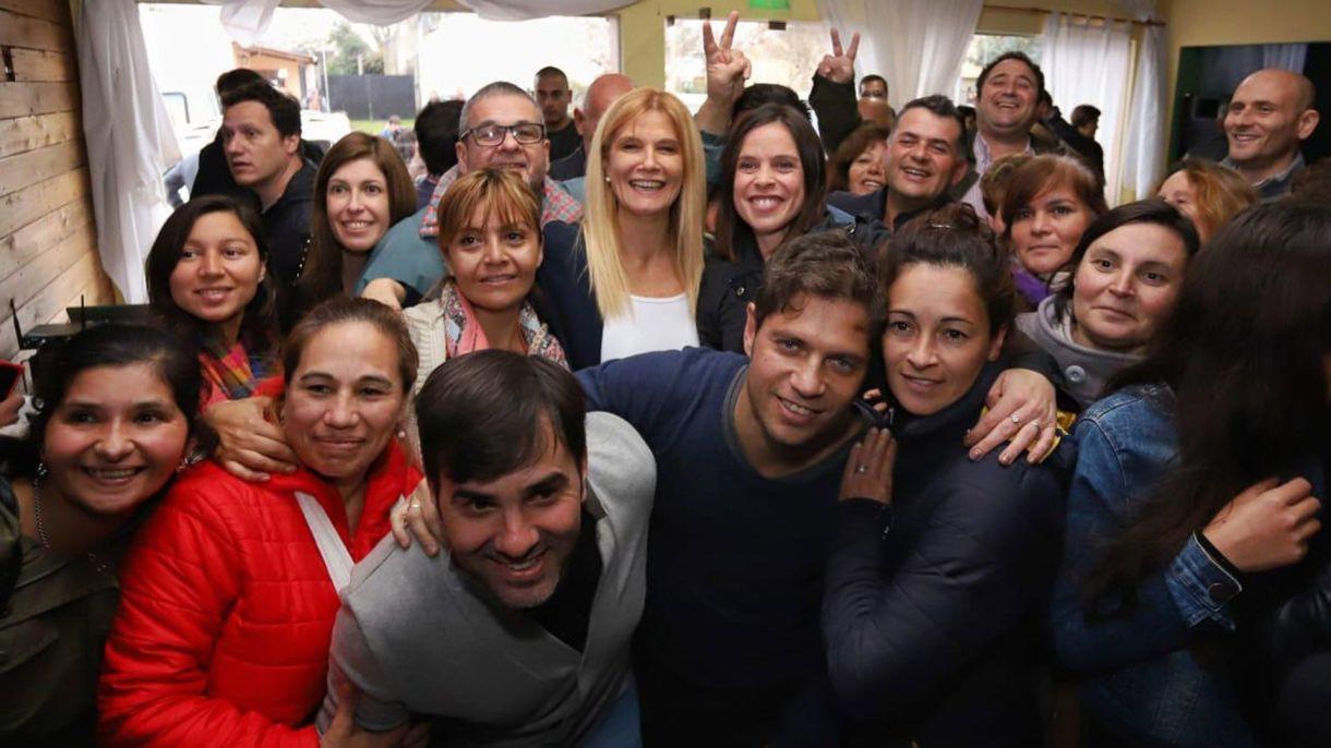 Kicillof y Magario en campaña por la provincia de Buenos Aires