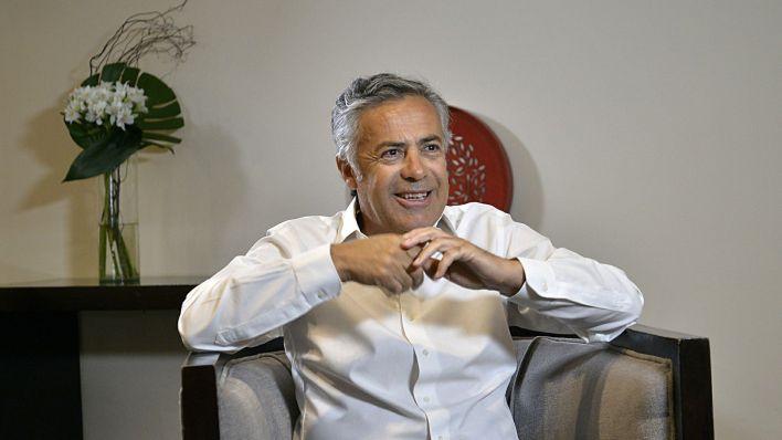 Alfredo Cornejo, titular de la UCR. (Gustavo Gavotti)