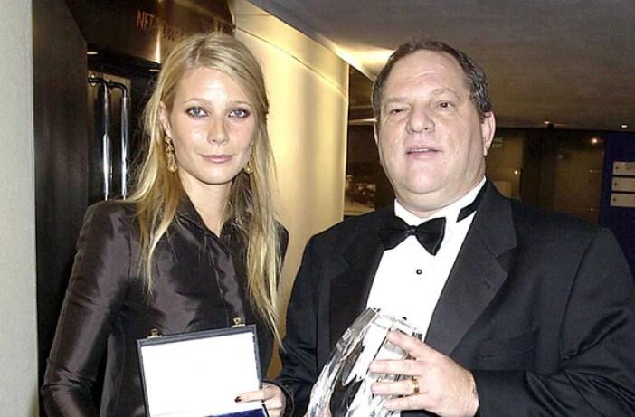 Gwyneth Paltrow y Harvey Weinstein