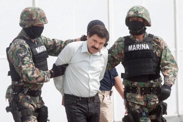 """Joaquín """"El Chapo"""" Guzmán Loera, capo del cártel de Sinaloa, fue extraditado a los Estado Unidos el 19 de enero de 2017 (Foto: Cuartoscuro)"""