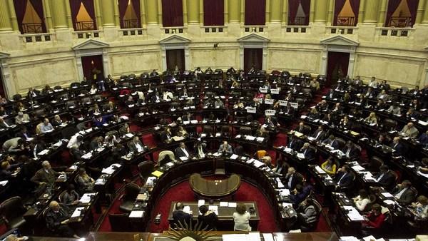 El oficialismo necesita 172 votos si es que todos los legisladores están presentes (DyN)