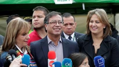 Gustavo Petro, el candidato de izquierda que peleará en segunda vuelta con Iván Duque (Reuters)
