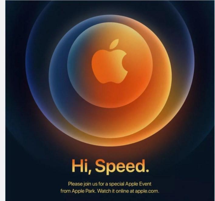 Hi Speed, Apple event