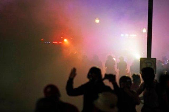 Tras el caso de Jacob Blake se desataron protestas violentas en (AP)