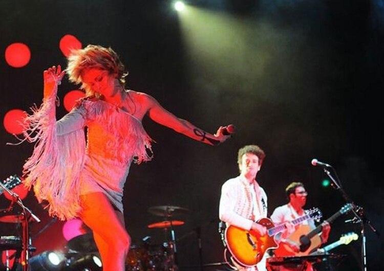 La banda en Montevideo (Cerati.com)