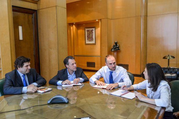 Las últimas reuniones del FMI con el equipo económico