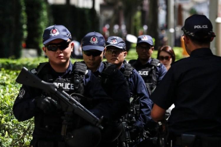 La cumbre tendrá lugar en medio de un imponente operativo de seguridad(AP/Yong Teck Lim)