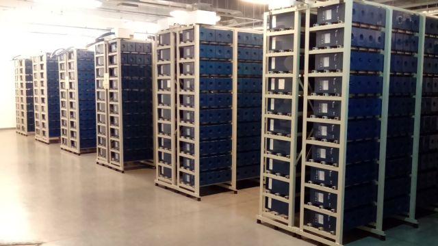 En los centros de datos se almacena y procesa gran cantidad de información.