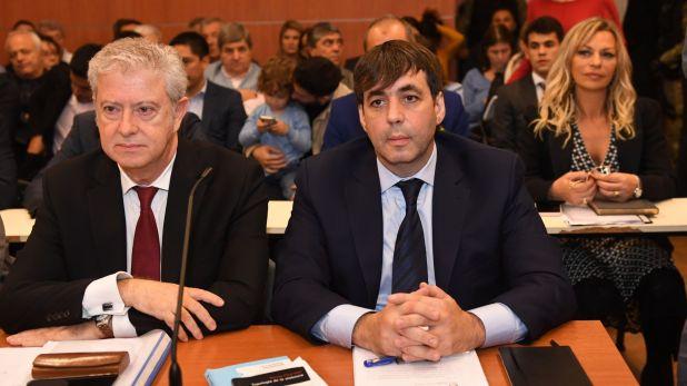 Fabián De Sousa durante una audiencia del juicio (Foto: Maximiliano Luna)