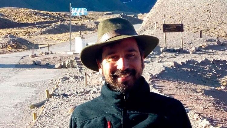Joaquín González, guardaparques del Parque Provincial Aconcagua.