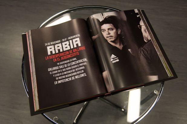 El libro con las mejores fotos de River campeón (Foto: Adrián Escandar)