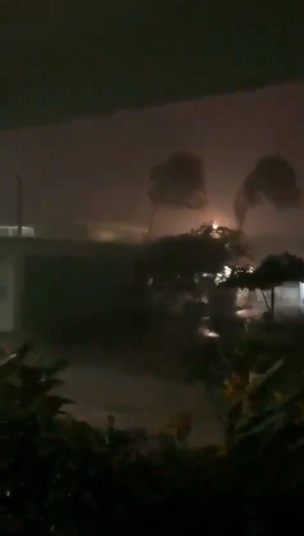 Hubieron inundaciones por el huracán Lorena de categoría 1 (Foto: captura de pantalla)