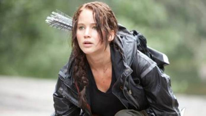 """Jennifer Lawrence in """"The Hunger Games"""""""