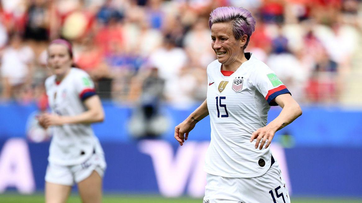 Estados Unidos jugará la semifinal del Mundial ante Ingaterra(AFP)
