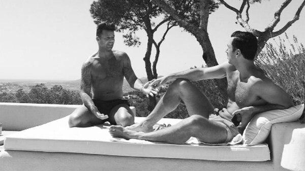La romántica foto de Ricky Martin con su novio Jwan Yosef