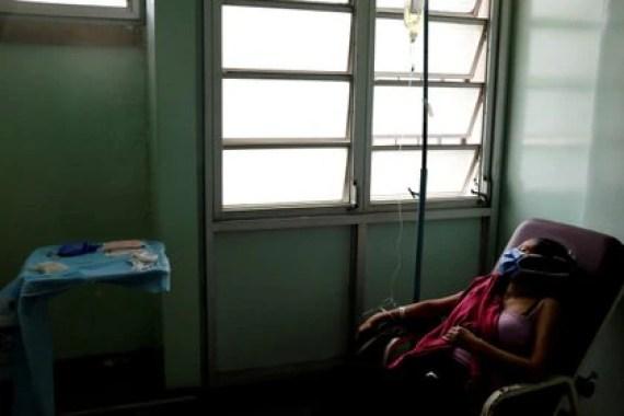 Además de la escasez de medicamentos e insumos básicos, la oposición venezolano denunció el colapso del sistema sanitario en tres hospitales de Caracas (REUTERS/Marco Bello)