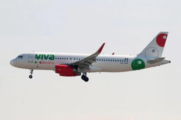 The video was inside a Viva Aerobús plane (Photo: Daniel Becerril / REUTERS)