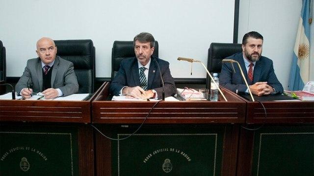 El tribunal que juzga a López (Centro de Información Judicial (CIJ))