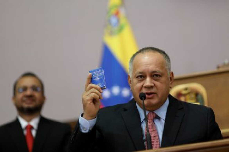 Diosdado Cabello, el número dos del chavismo fue el primero en confirmar que se había contagiado de COVID-19