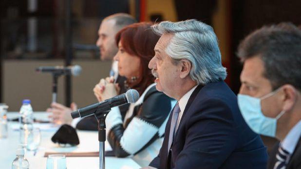 Alberto Fernández - Acto deuda