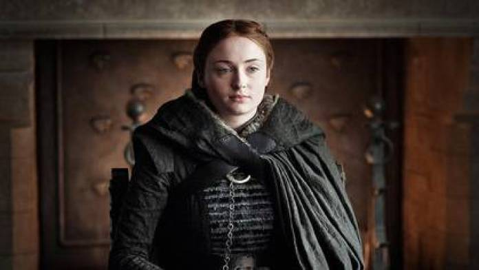 """""""I fell in love with it at 13, and now, at 23 I leave you behind,"""" wrote Sophie Turner (Photo: HBO)"""